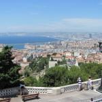 Marseille - výhled od Notre Dame della Garde