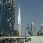 Nejvyšší budova světa při dobré viditelnosti