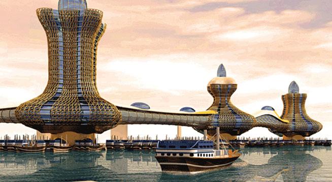 Alladin city - jeden z mnoha ohromujících developerských projektůAlladin city - jeden z mnoha ohromujících developerských projektů