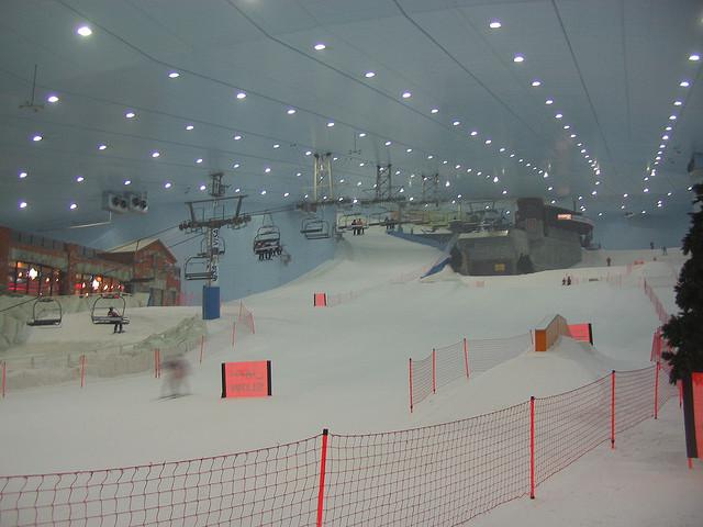 Umělý ski areál