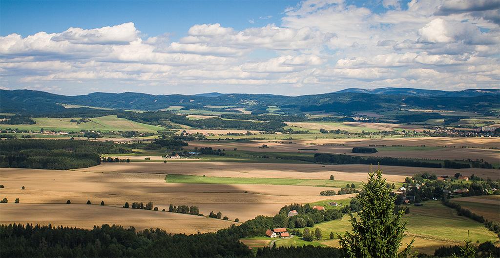 Česká krajina - panoráma