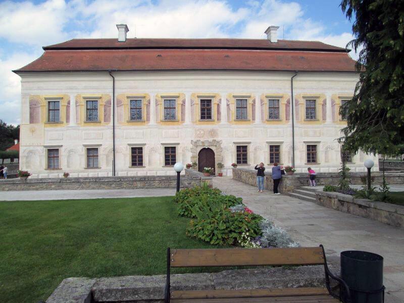 Budova zámku Kratochvíle