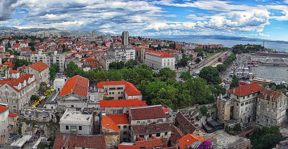 Chorvatsko na blind náhled