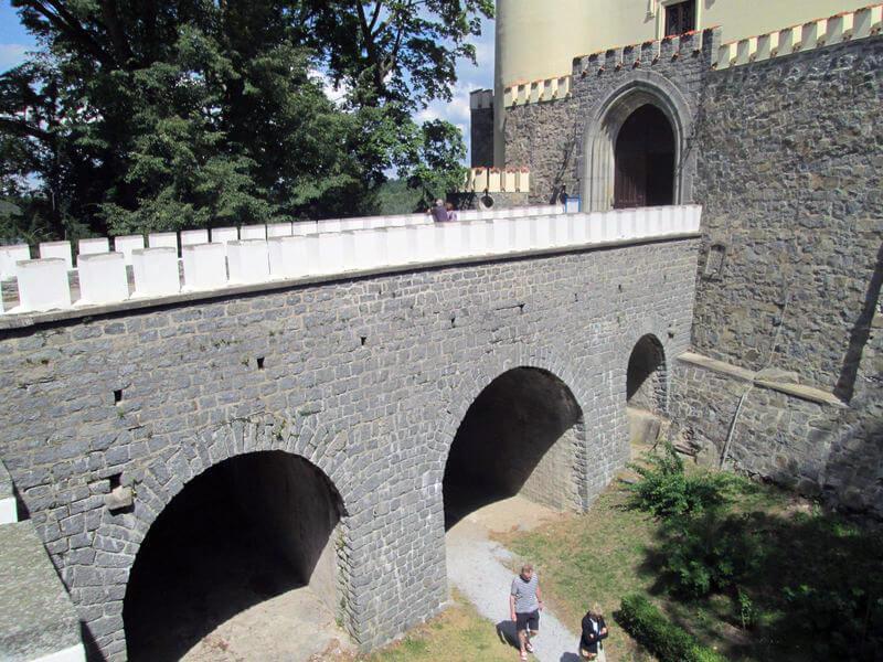 Most na zámku Orlík