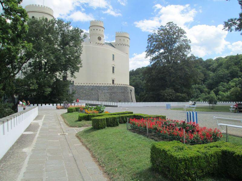 Zahrady u zámku Orlík