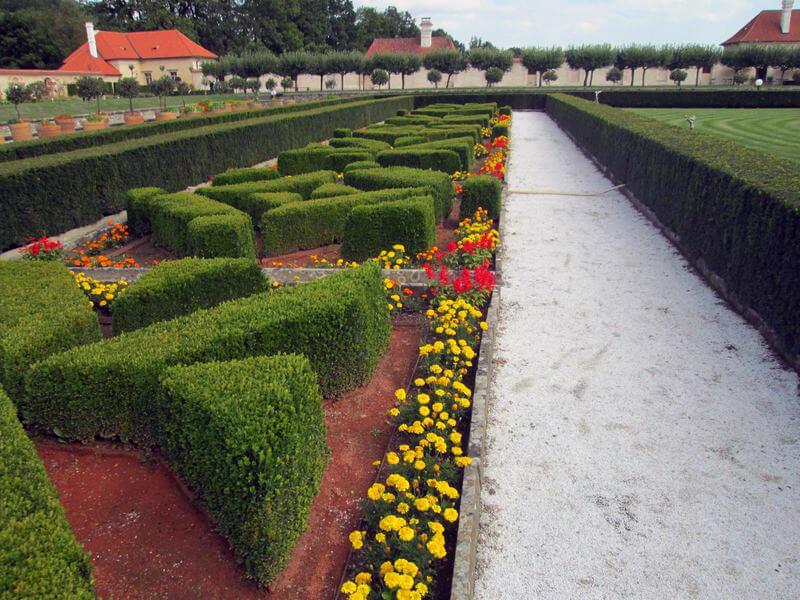 Zámecká zahrada Kratochvíle