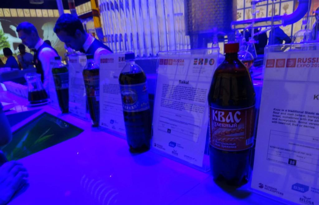 Ruské nápoje, dáte si Kvas?