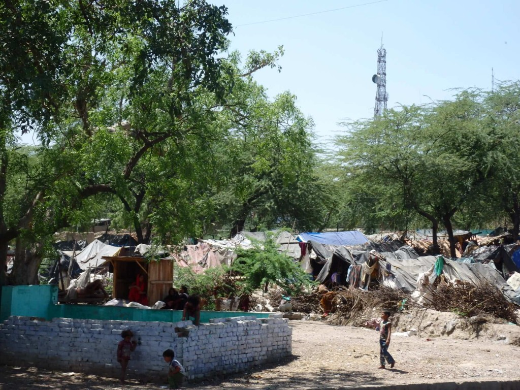 A chudinský slum