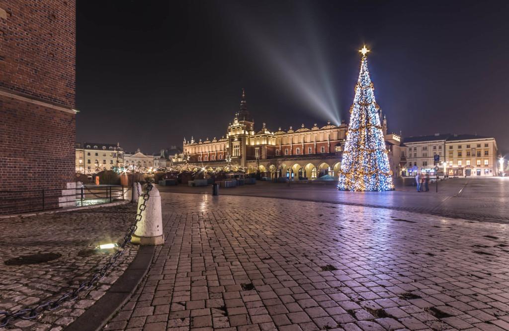 Adventní trhy Krakov