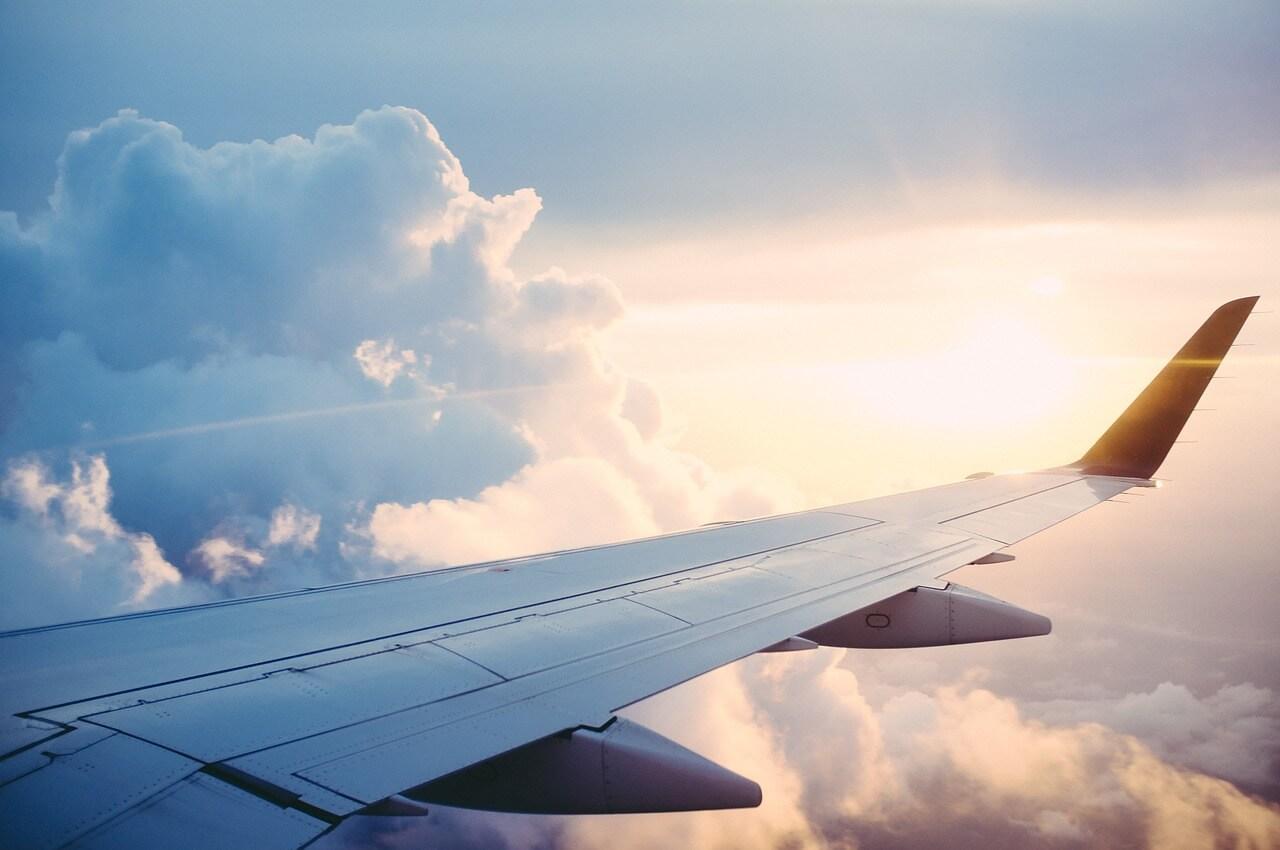 Pohled z letadla - jak na levné letenky