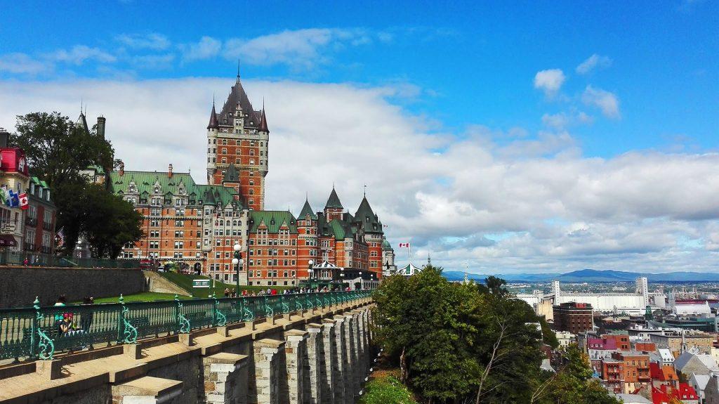 Starý hrad v Québecu